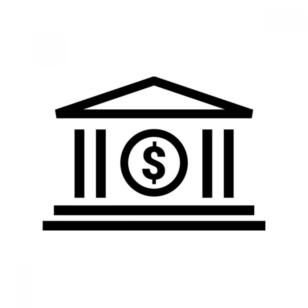 Bank, free icon, dollar